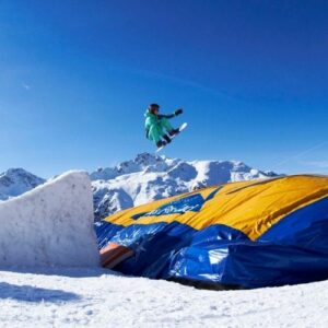 saut air bag val thorens