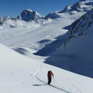 sortie ski de randonnee ecole de ski
