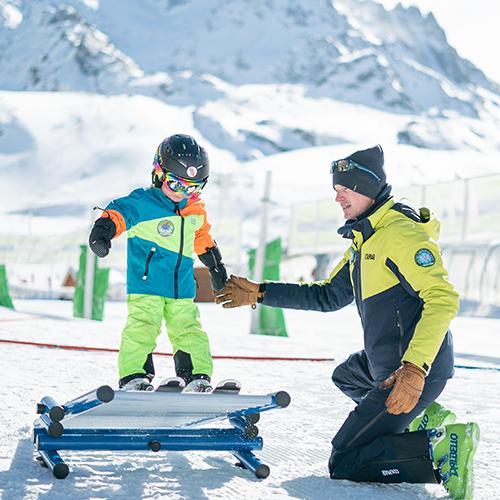 cours de ski pour les petits prosneige