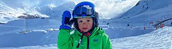 enfant cours de ski ecole prosneige