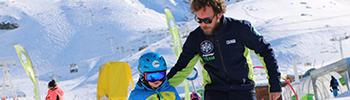 programme spécifique enfants ski