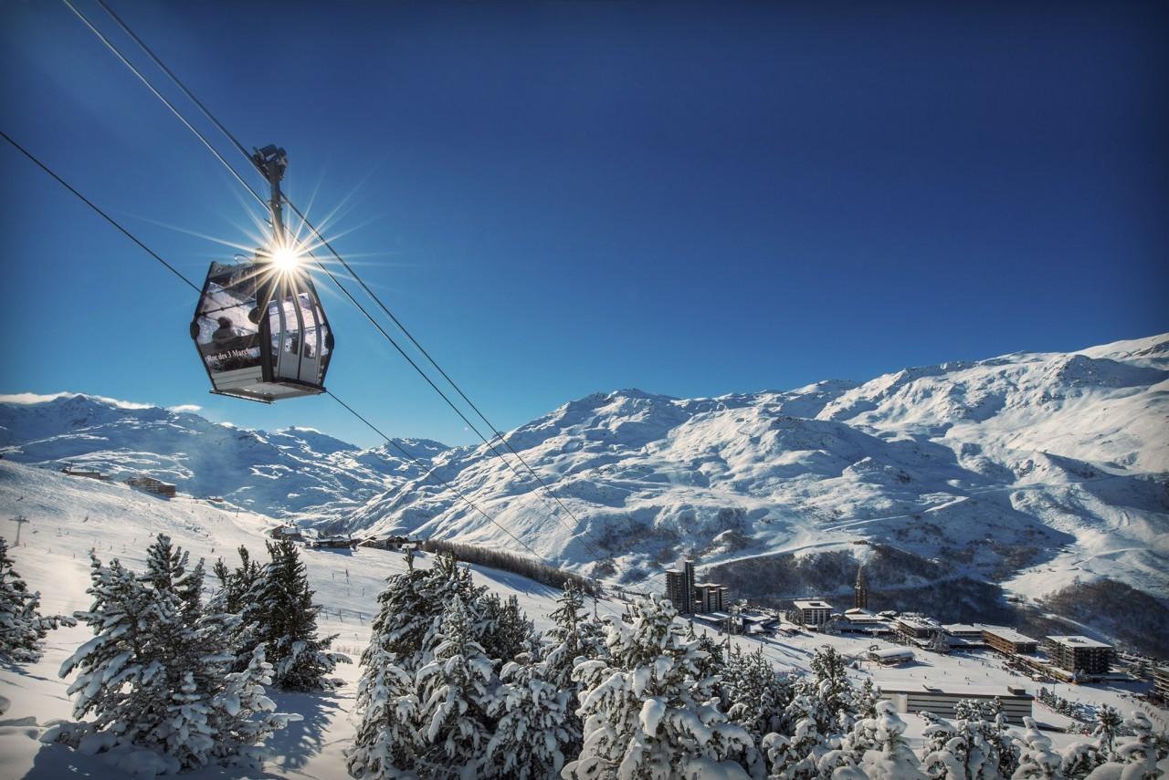 prosneige les menuires ecole de ski